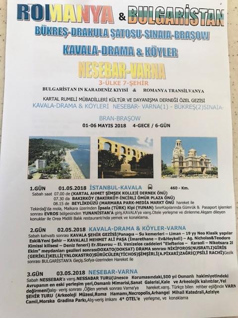 3 Ülke 7 Şehir Balkanlar Turu